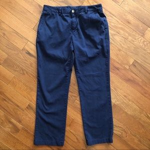 Vineyard Vines Men's Blue Slim Fit Breaker Pant